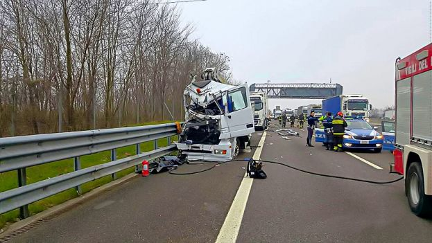 Incidente Autostradale-Camion