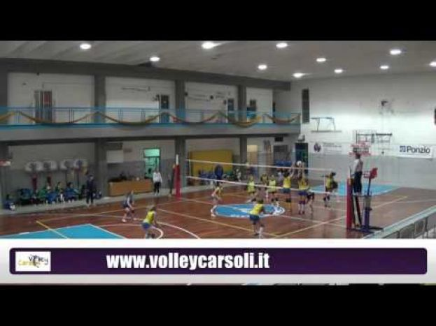 VOLLEY CARSOLI VS PINETO VOLLEY,CAMPIONATO DI SERIE D (VIDEO)