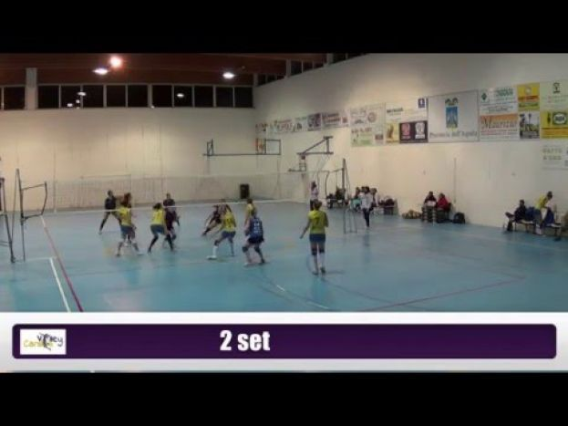 VOLLEY CARSOLI VS TORTORETO VOLLEY,CAMPIONATO DI SERIE D (VIDEO)