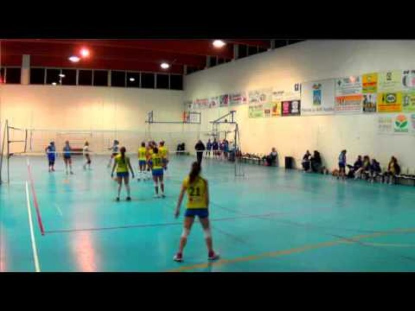 VOLLEY CARSOLI VS ASD PALLAVOLO ROSETO,CAMPIONATO DI SERIE D(VIDEO)