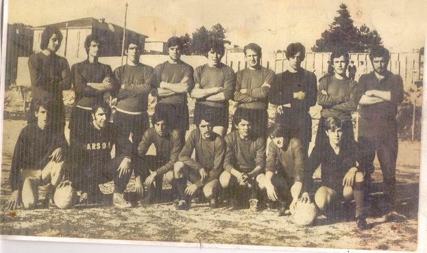 CARSOLI,CAMPIONATO DI CALCIO 1° CATEGORIA 1970/1971