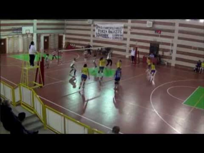 VOLLEY CARSOLI VS ASD CORROPOLI VOLLEY,CAMPIONATO DI SERIE D(VIDEO)