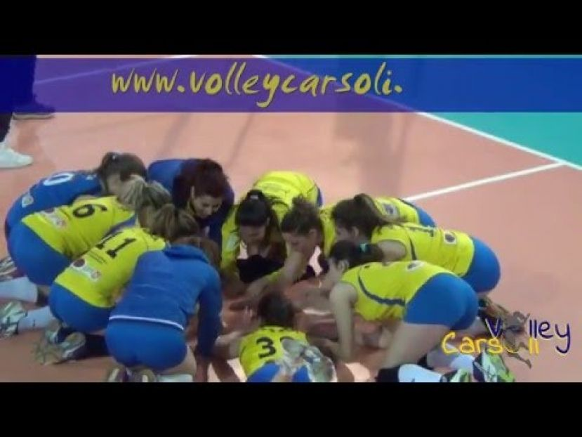 CASTELNUOVO VOLLEY VS VOLLEY CARSOLI,CAMPIONATO DI SERIE D (VIDEO)