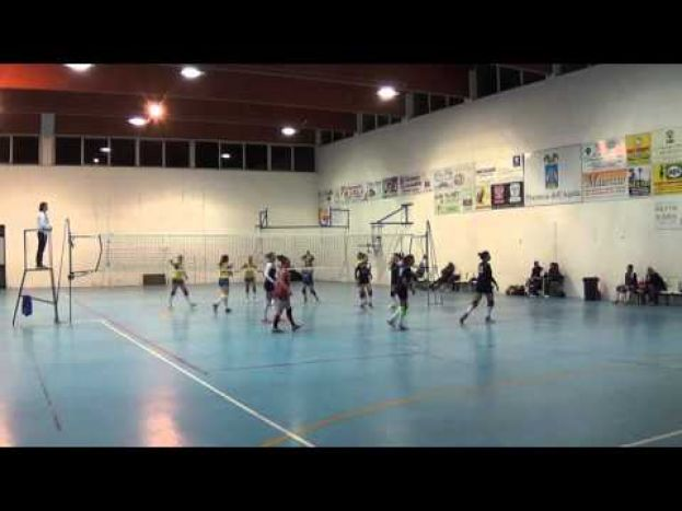 VOLLEY CARSOLI VS A.S.D. PRO CASTELNUOVO,CAMPIONATO DI SERIE D (VIDEO)