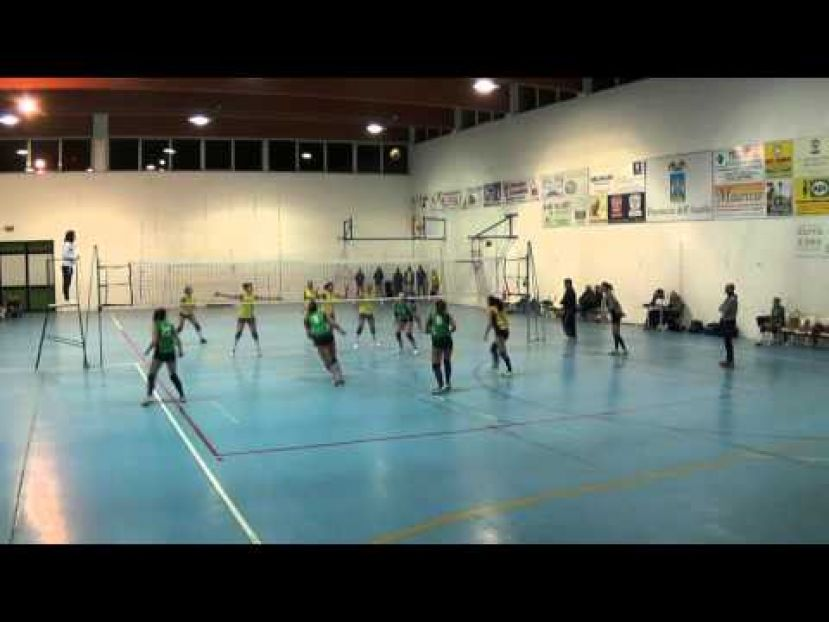 VOLLEY CARSOLI VS  TORRIONE VOLLEY,CAMPIONATO DI SERIE D (VIDEO)