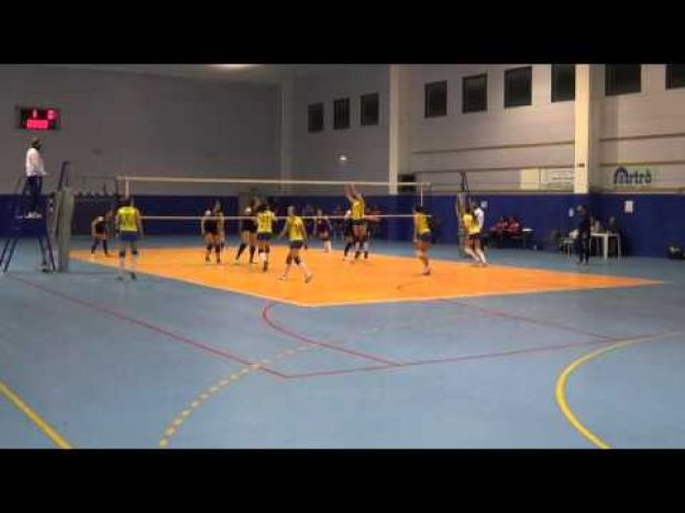 VOLLEY CARSOLI VS VIRTUS TORRICELLA ,CAMPIONATO DI SERIE D (VIDEO)