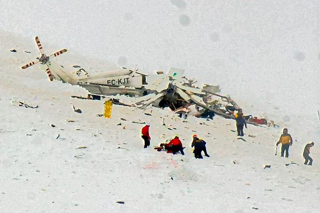 Elicottero Caduto : Cavalierenews elicottero del precipitato a campo